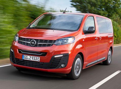 Opel Zafira-e Life (© Opel Automobile GmbH)