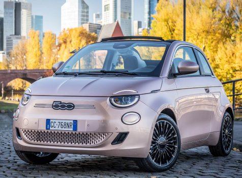 FIAT 500e Cabrio (© FCA Germany AG)