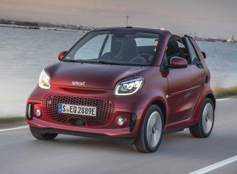 SMART EQ fortwo Cabrio (© Daimler)