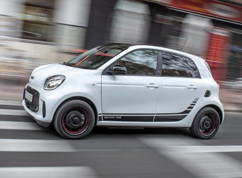 SMART EQ forfour (© Daimler)