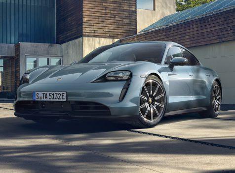 PORSCHE Taycan 4S (© Porsche AG)