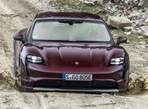 PORSCHE Taycan Cross Turismo 4 (© Porsche AG)